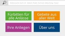 Ein Klick auf die Abbildung öffnet die Internetseite: www.gebetssuche.de