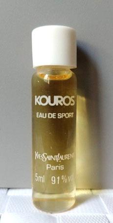 KOUROS - EAU DE SPORT : MINIATURE HOMME TUBULAIRE 5 ML