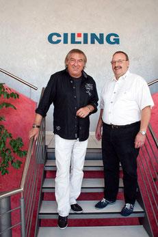CILING Geschäftsführung Bernhard Müller und Bernd Ulrich von Die Amgios
