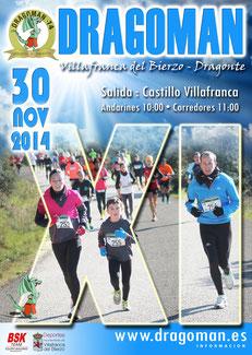 XI CARRERA DRAGOMAN - Villafranca-Dragonte, 30-11-2014