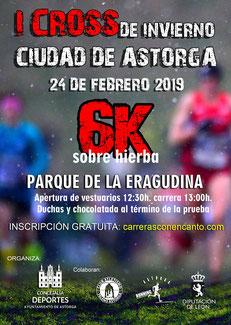 I CROSS INVIERNO CIUDAD DE ASTORGA - 24-01-2019