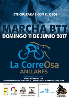 II MARCHA BTT LA CORREOSA ANLLARES - Anllares del Sil, 11-06-2017