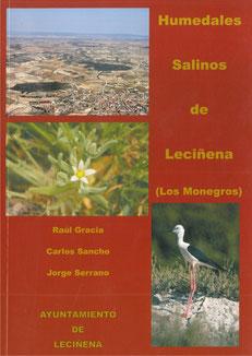 """Portada libro """"Humedales salinos de Leciñena, (Los Monegros)"""""""