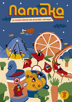 portada revista Namaka núm. 3