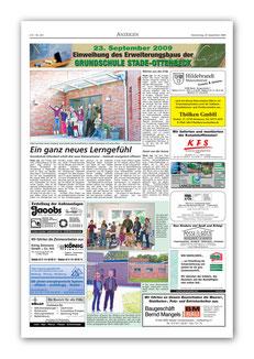 Stader Tageblatt 24.9.2009