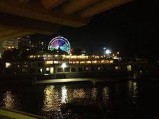 Ein Riesenrad am Ufer. Steht auf meiner To-Do-Liste ganz weit oben.
