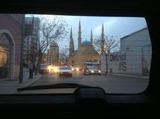 Die Mohammed-al-Amin-Moschee im Herzen Beiruts.