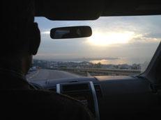 Auf dem Weg von Kesrouan nach Beirut.