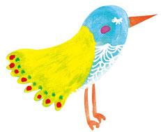 大きな鳥画像