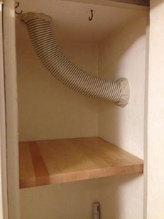 ハードメープル集成材の棚板 after