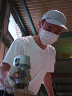 藤井ハウス産業職人服部さん2