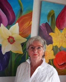 Ingrid Berger - Malerei aus Münsingen