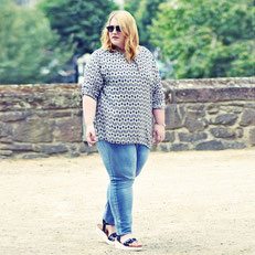 Plus Size Bloggerin , Mypepita , Mode in großen Größen