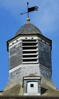 Le lanternon du beffroi de St-Riquier