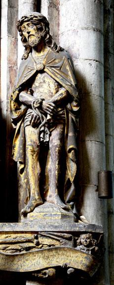 Cathédrale N-D d'Amiens: Monument funéraire de Pierre Burry