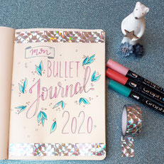 paper break papeterie val de marne region parisienne lettering bullet journal