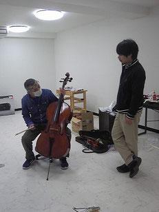 バイオリン ドア