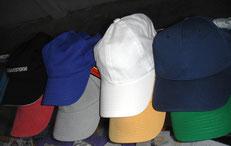 gorras poliester para bordado colores