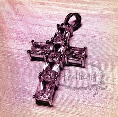 Anhänger Schmuck Silber Kreuz