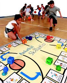L'apprentissage des règles du basket-ball aux enfants avec Skillastics. Matériel Skillastics Basket-ball à acheter pas cher.