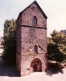 dudweiler, alter turm, evangelisch, kirche
