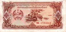 20 laotische Kip