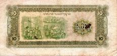10 laotische Kip