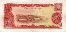 20 laotisch Kip
