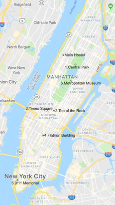 new-york-map-route