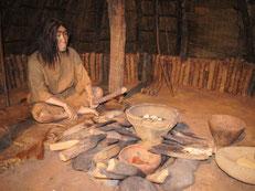 竪穴式住居の暮らし