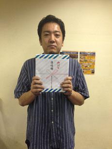 準優勝:佐藤選手