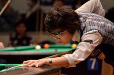 昨年の関東レディースオープン優勝:野内麻聖美