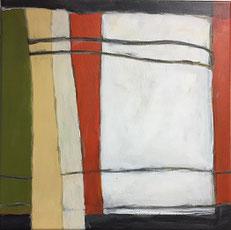 Farbfelder 8, Acryl, 40 x 40 cm, 2018