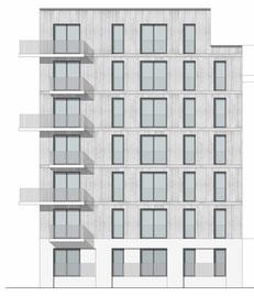 dgk architekten Holzbau Holzfassade Eckbalkone Wohnungsbau Leipzig
