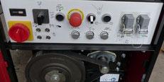 Bedienfeld EMX250 Spezialmaschine