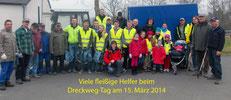 Dreck-Weg Tag 15. März 2014