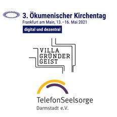 Ökumenischer Kirchentag. Villa Gründergeist. Telefon-Seelsorge. Nonprofit-Management