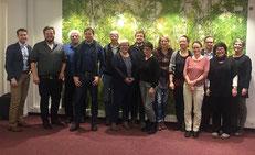 Tobias Meyer vom IZGS der EHD (links) wird gemeinsam mit den Gutachterinnen und Gutachtern Freiwilligenagenturen mit dem neuen bgfa-Qualitätsmanagementsystem beurteilen.  | Foto: bagfa, Berlin
