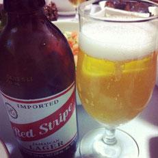 ジャマイカのビール レッドストライプ