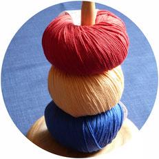 Wolle für Puppenkleidung