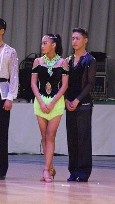 大西大晶 大西咲菜 写真第36回日本インターナショナルダンス選手権-アマラテンより