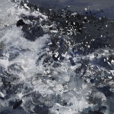 水3 WATER 3 40X40CM 布面油画  OIL ON CANVAS 2018