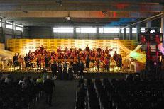 Konzert in der Werkshalle der Xella Porenbeton Österreich