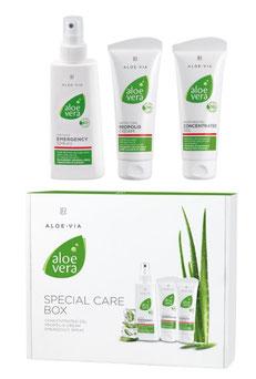 Aloe Vera Erste Hilfe Box