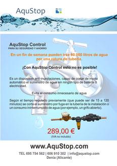 AquStop Control -