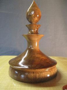 Détail décor du coffre à bijoux bois personnalisé.CCL ébéniste