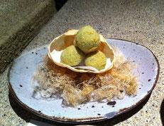蟹と里芋のクリームコロッケ
