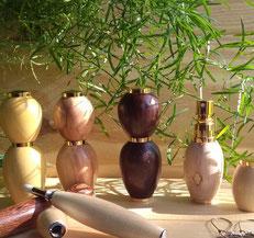Le bois de Maffé - Applicateurs de parfum en bois tourné