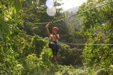 Canopy Tour o Tirolinas