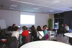 atelier osons ESSayer lors du Campus Passeurs d'Avenir le 17 novembre au Manège de Chambéry.